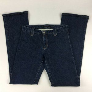 Theory Jeans Size 6 Low Rise Bootcut No Pockets